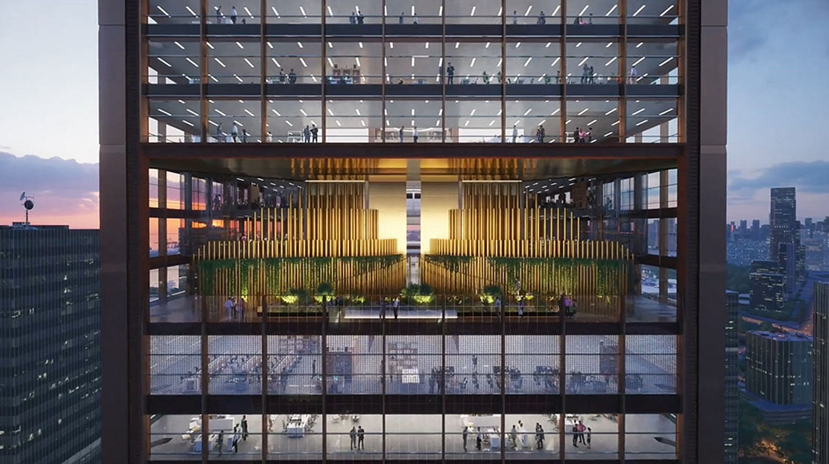 RSHP Wins Design Contract for Commercial Tower in Shenzhen