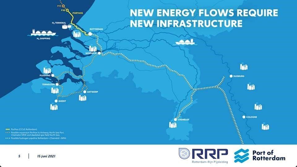 Netherlands Germany Delta Corridor Pipelines Study Underway