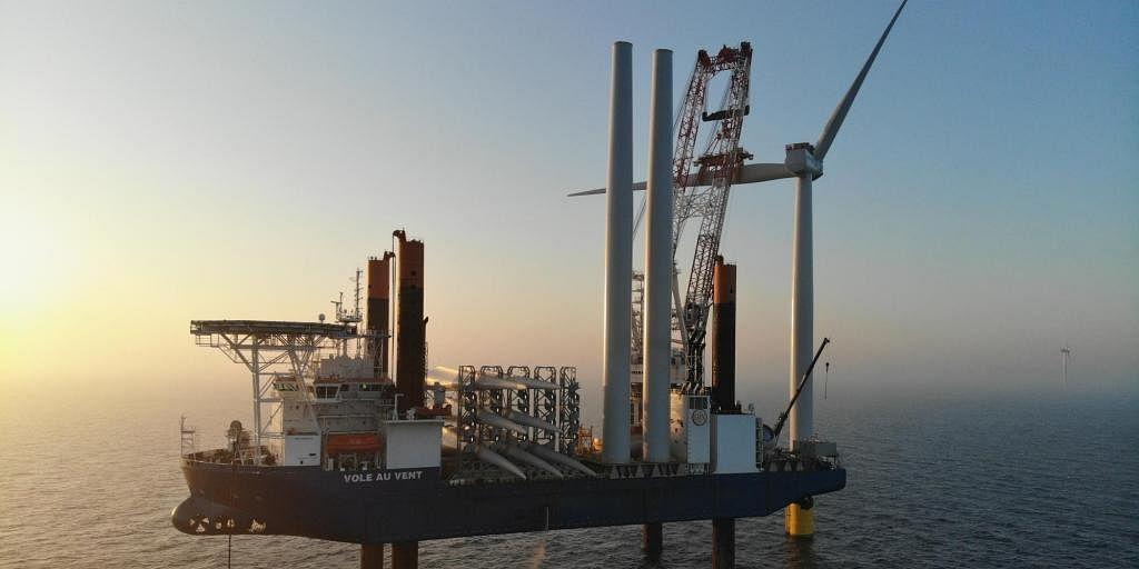 72 Wind Turbines for 604 MW Kriegers Flak Wind Farm Installed