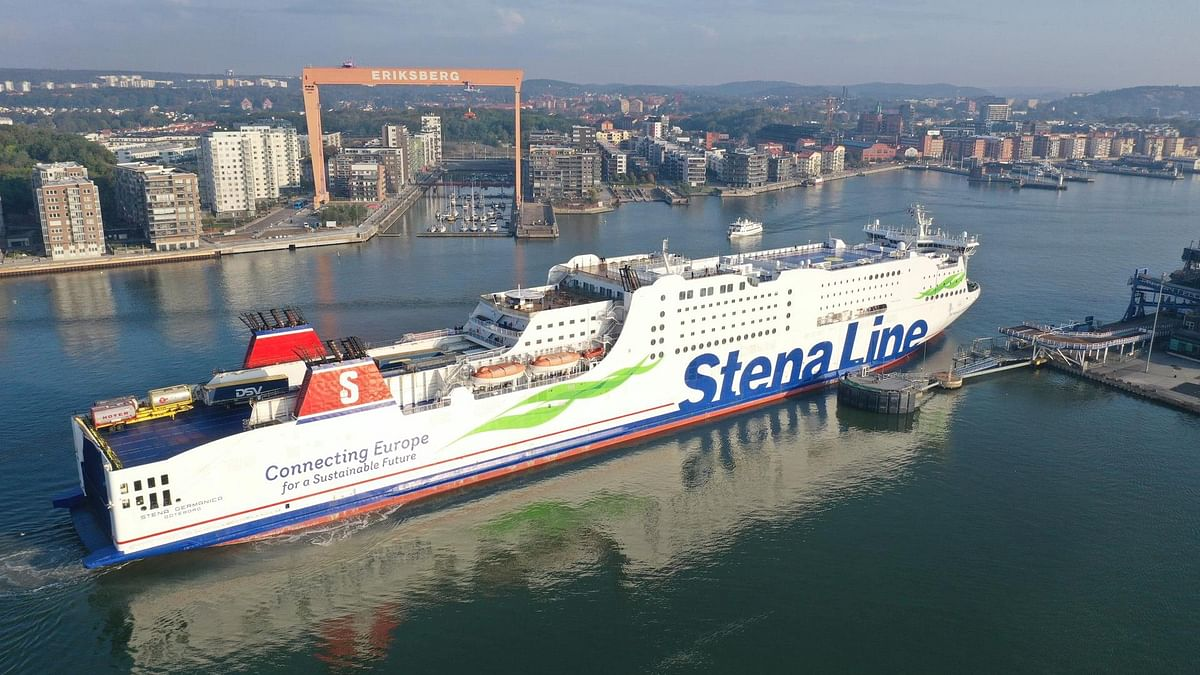 Stena Germanica Refuels with Recycled Methanol from Steel Gases