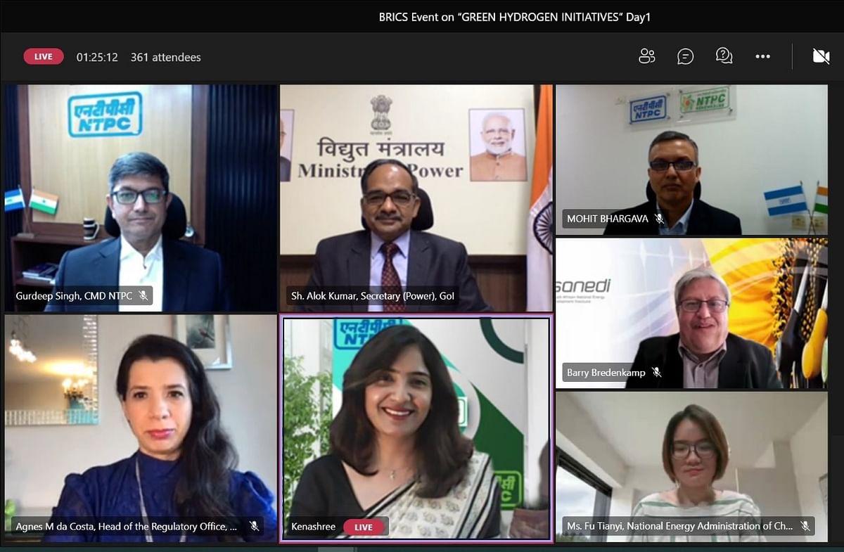 BRICS Virtual Green Hydrogen Summit Organized