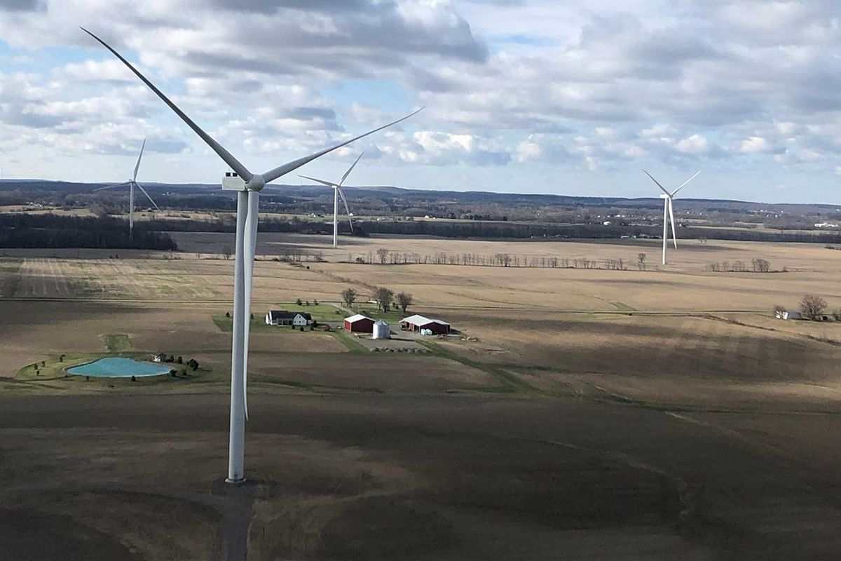 RWE's US Onshore Wind Farm Scioto Ridge in Operation