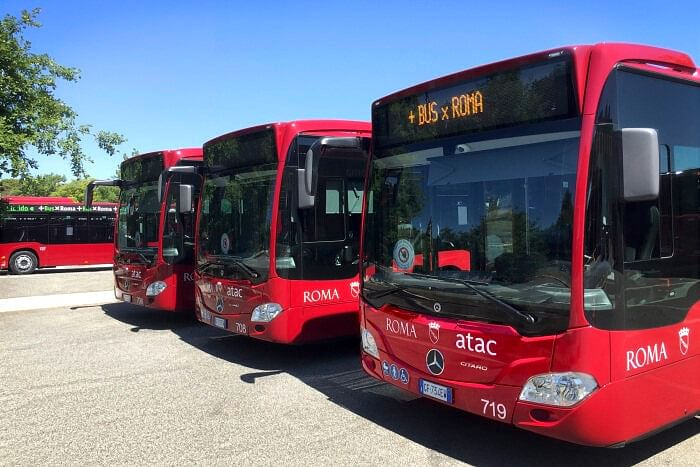 Mercedes Benz to Delivers 100 Citaro Hybrid Buses to Atac