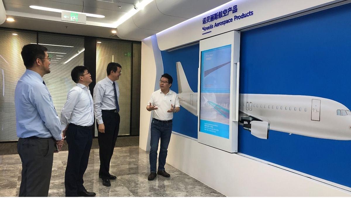 Novelis MoU with Tsinghua University Suzhou Automotive Research