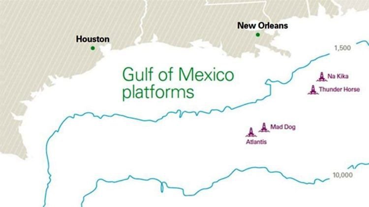 bp's Manuel Project at Na Kika Platform in Gulf of Mexico