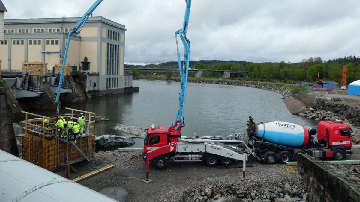 Vattenfall Makes Climate-Smarter Concrete