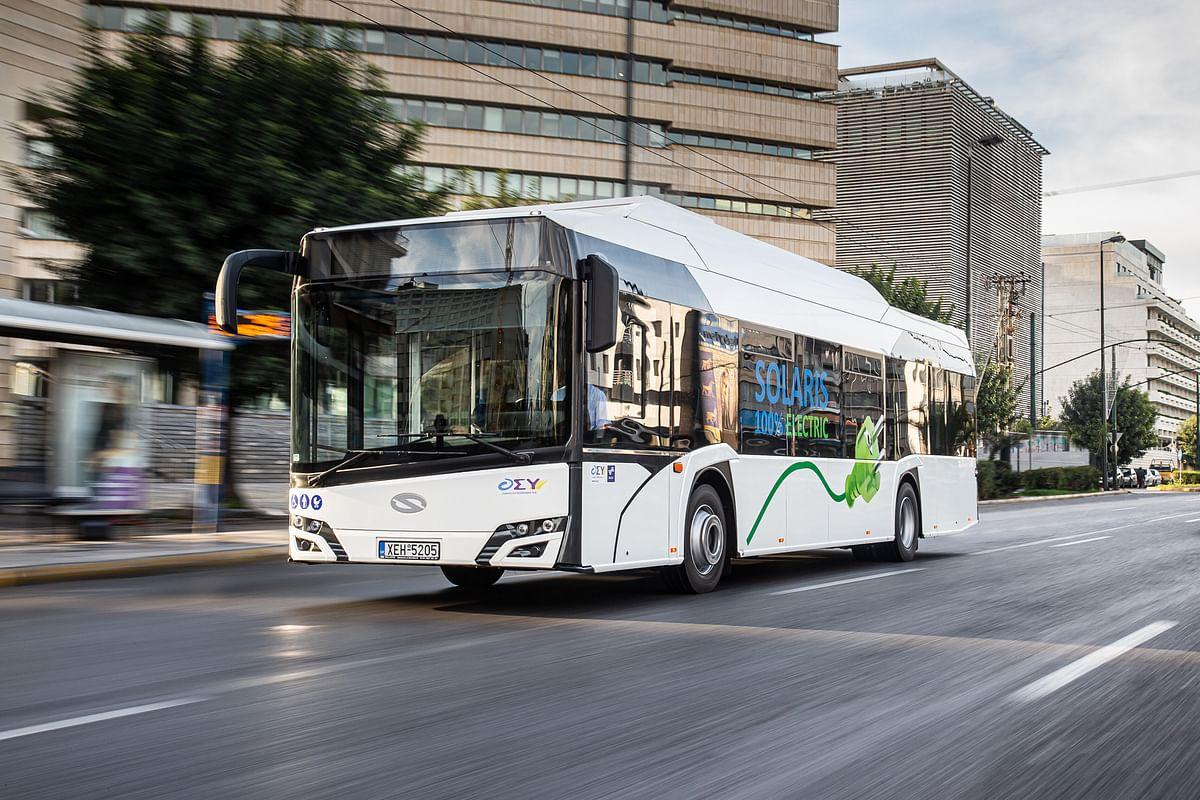 6 Solaris Electric Buses for VBL Luzem in Switzerland