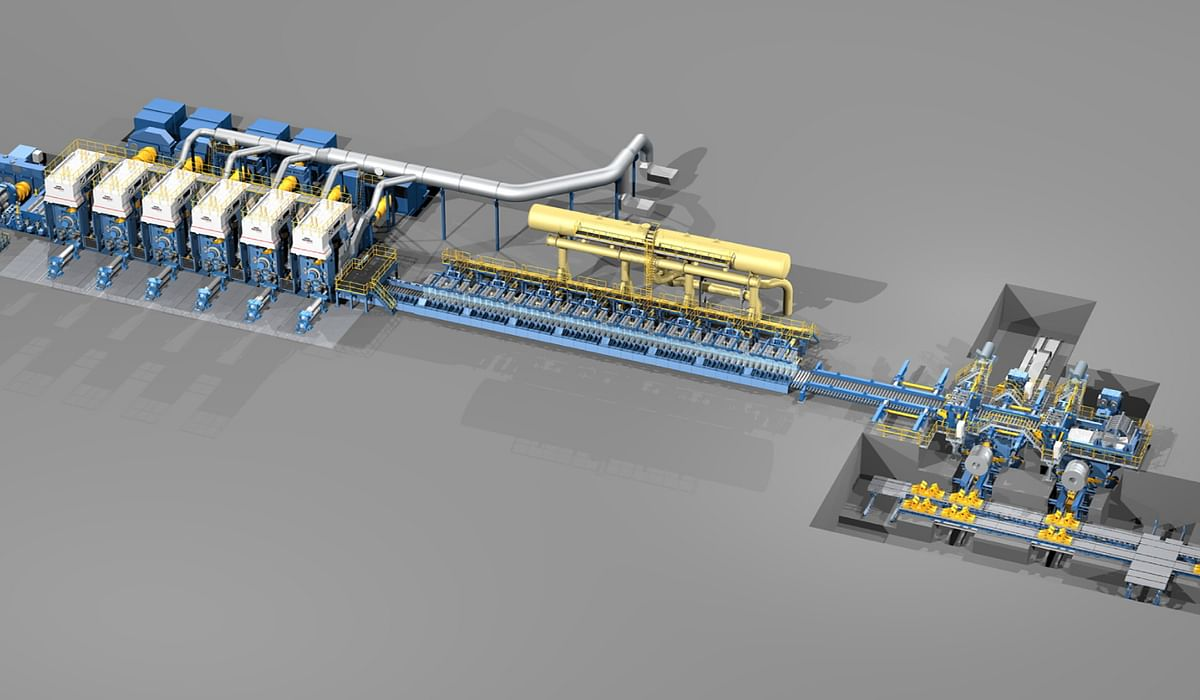 SMS to Modernize HSM of Panzhihua Steel & Vanadium Co