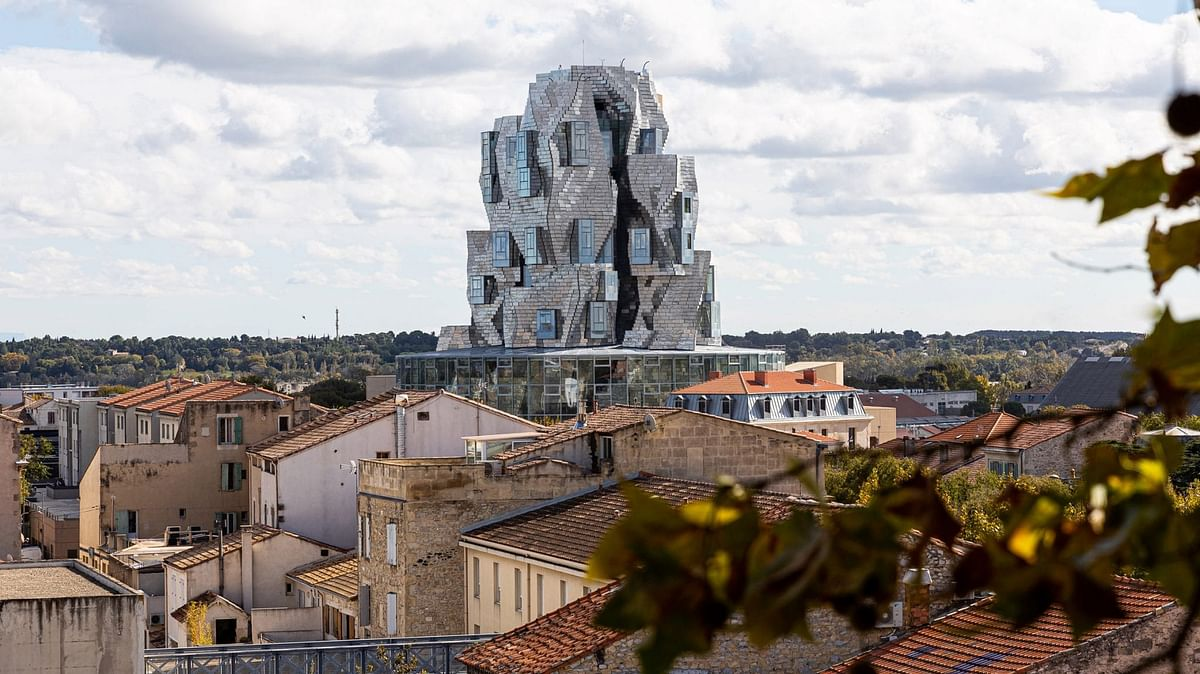 Stainless Steel-Clad Tower for Luma Arles Arts Centre