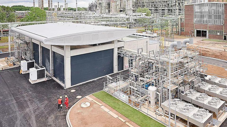 Shell Starts PEM Green Hydrogen Electrolyser