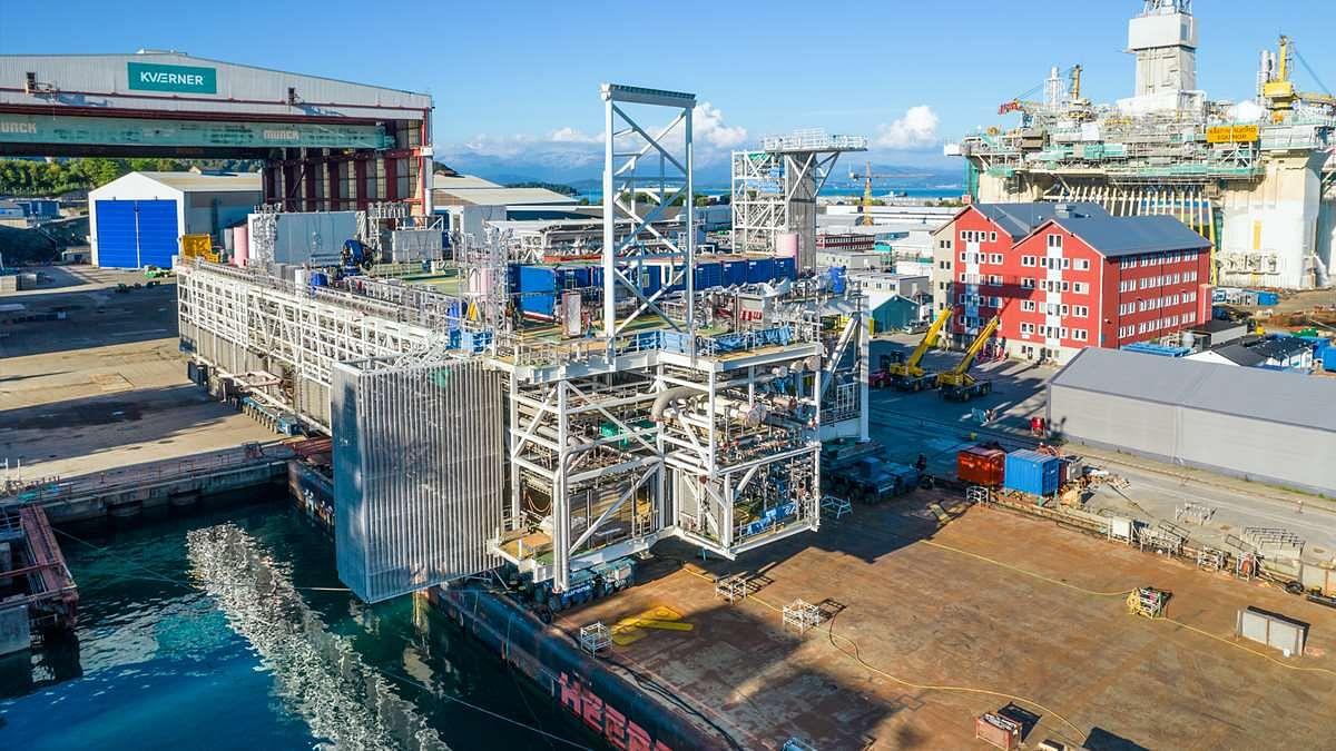 Aker Solutions to Deliver Large Johan Sverdrup Module