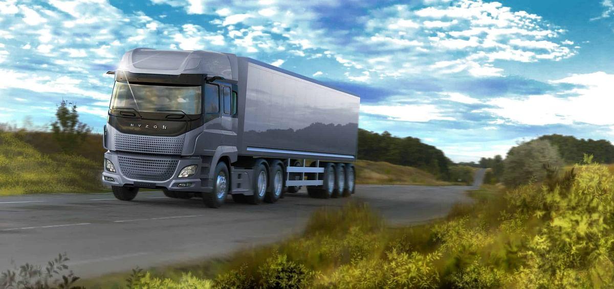 Hyzon 154 Tonne Hydrogen Truck for Ark Energy in Korea