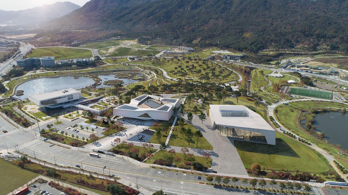 UNStudio & DA's Design Chosen or Chungnam Art Museum in Korea