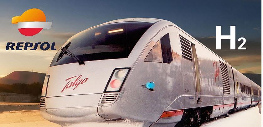 Repsol & Talgo to Develop Hydrogen Powered Train in Spain