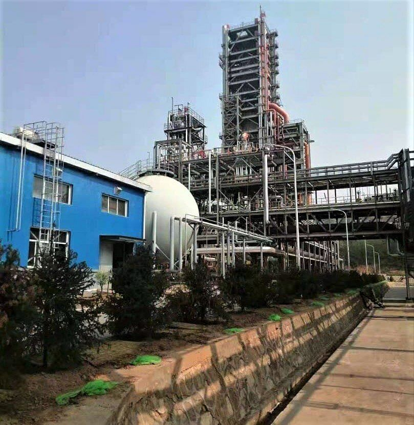 Iranian PERED Technology Based Sponge Iron Plant Launched in China