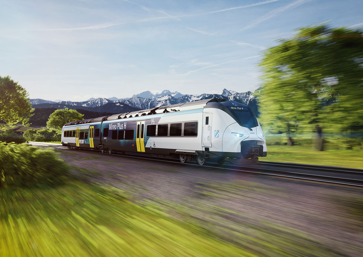 Siemens to Trail Hydrogen-Powered Train in Bavaria