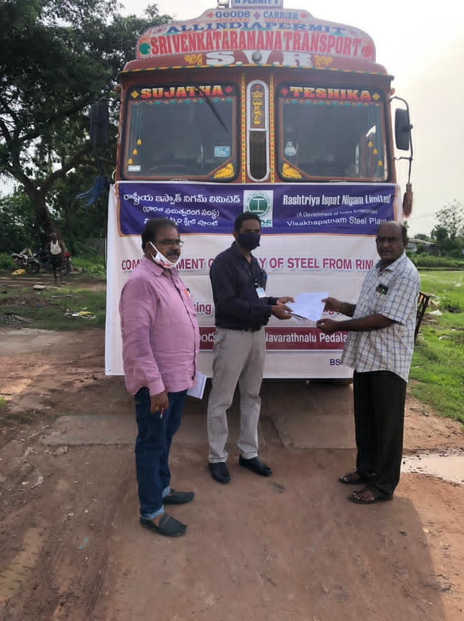 RINL Start Rebar Supply for Navaratnalu Pedalandiriki Illu Housing