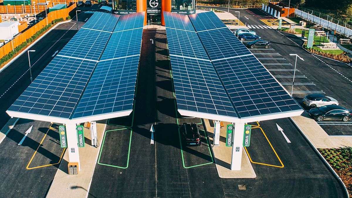 ABB Chargers for GRIDSERVE Electric Highway in UK