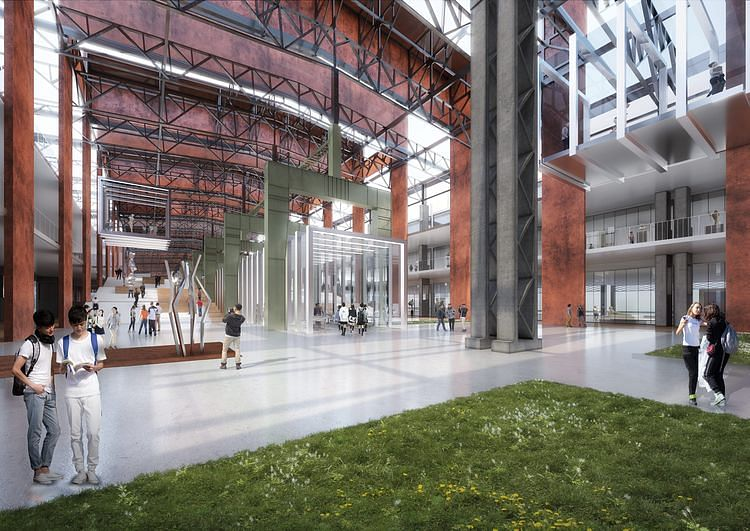 Disused Stainless Steel Factory in Shanghai to Turn into Academy