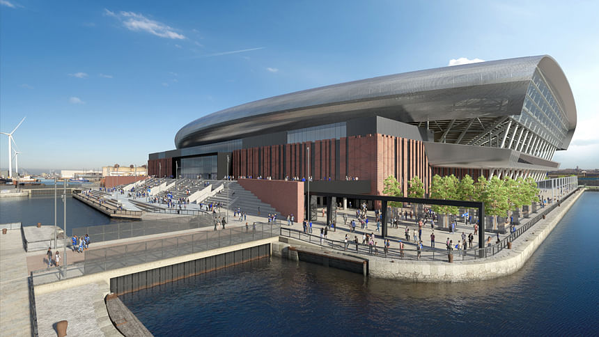 Laing O'Rourke to Start Work on Everton Stadium in July End