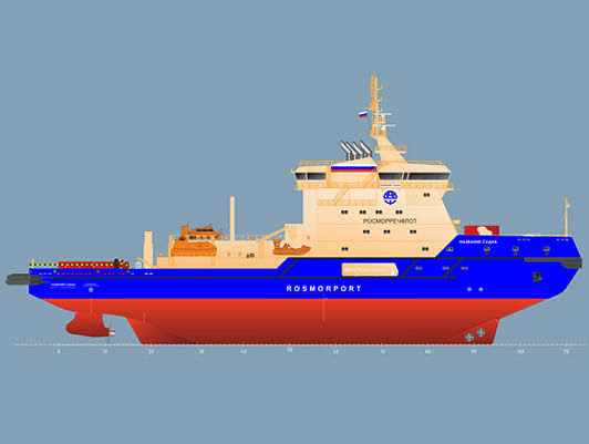 Rosmorport Orders Dual Fuel Icebreakers from Onego Shipyard