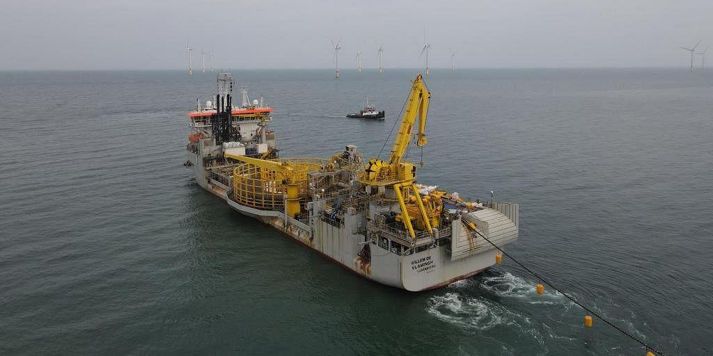 Jan De Nul Installs Formosa 2 Export Cables
