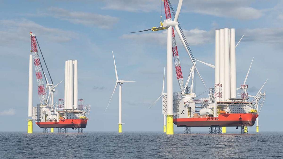 KONGSBERG Wind Turbine Vessel Technology Chosen by COSCO