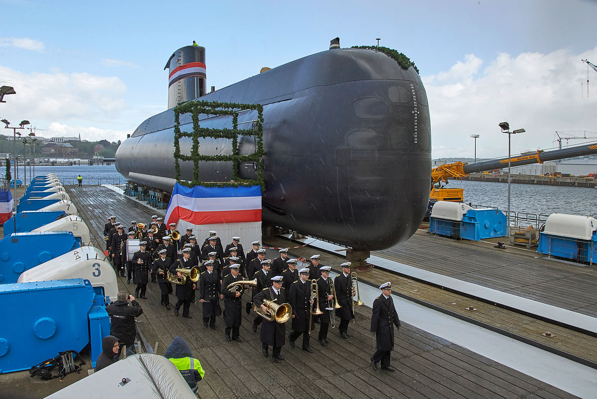 thyssenkrupp Marine Systems Delivers Submarine to Egyptian Navy