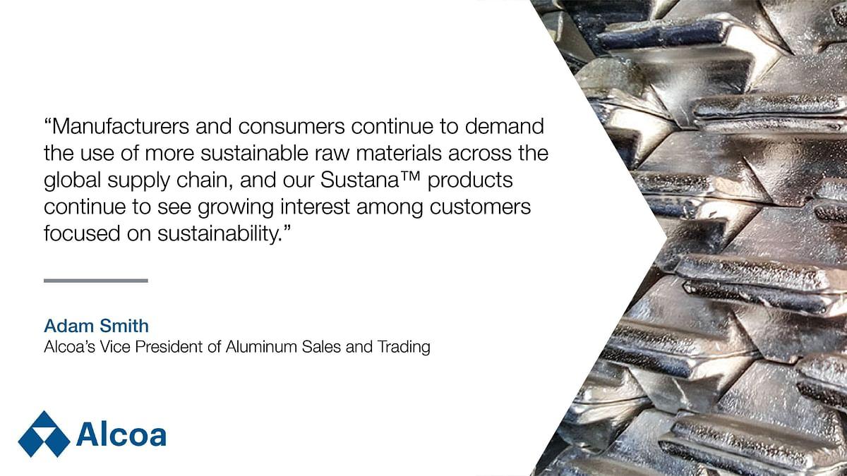 Alcoa to Supply EcoLum Aluminium to WKW Extrusion's Erbslöh