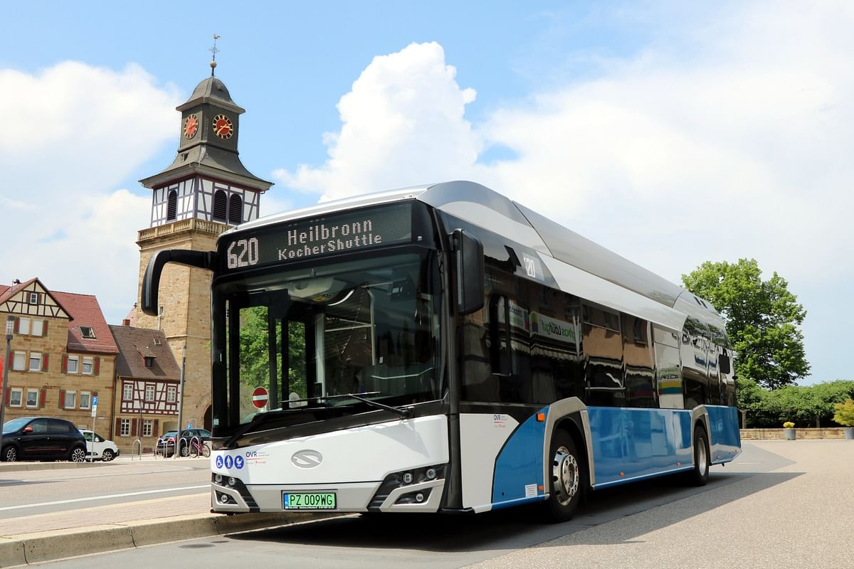 Heilbronn District in Germany Opts for Solaris Hydrogen Bus