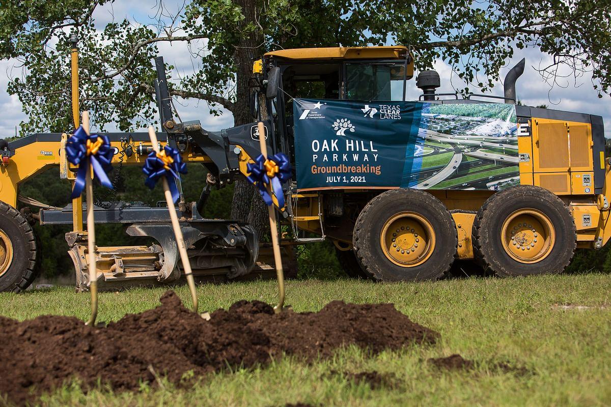 Fluor Starts Oak Hill Parkway Infrastructure Project  Austin Texas