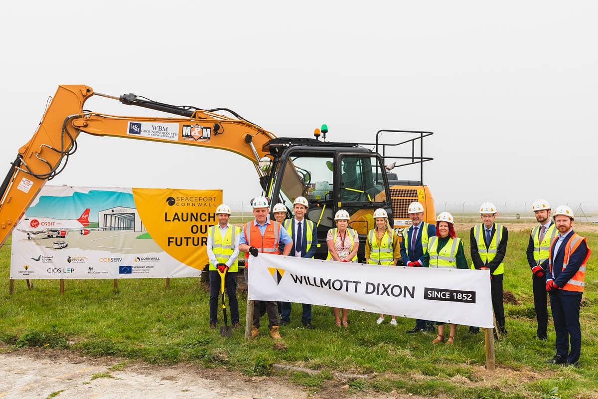 Willmott Dixon Awarded Aviation Centre at Cornwall's Spaceport