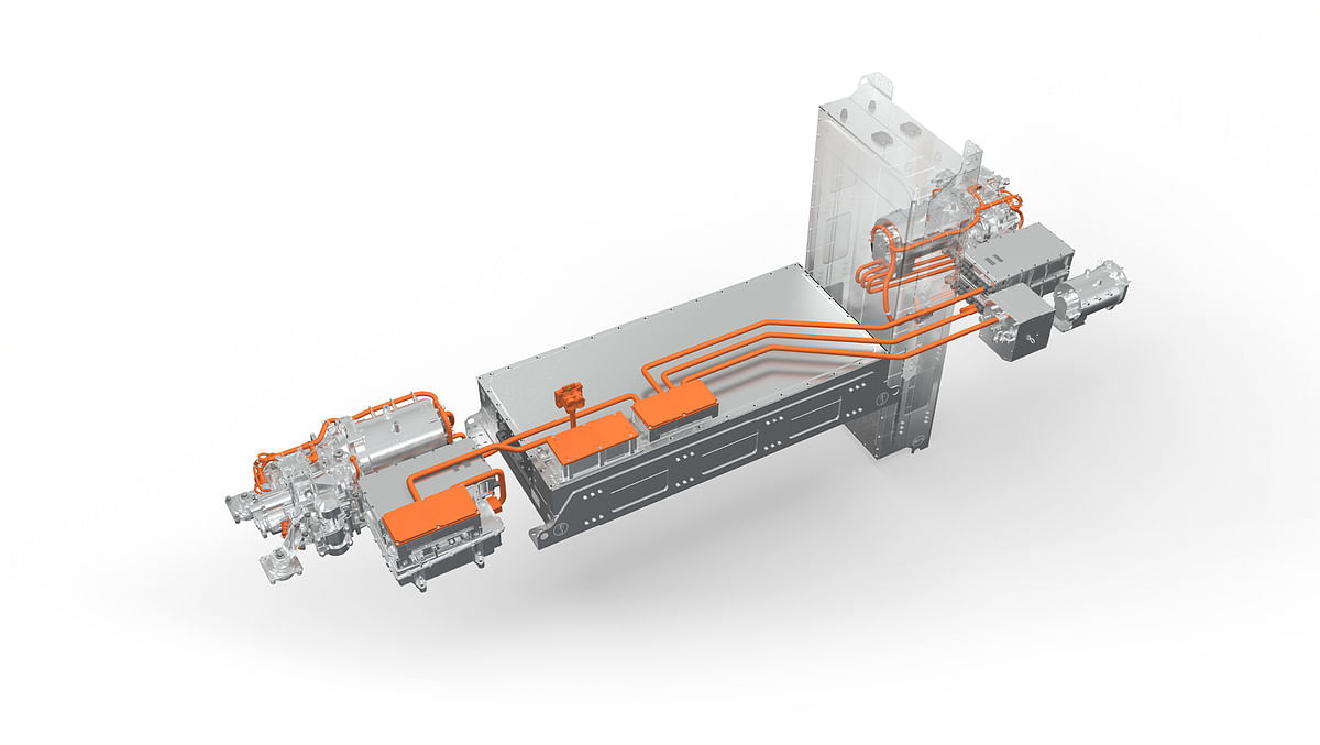 Volvo Penta Starts Production of E Driveline for Fire Truck