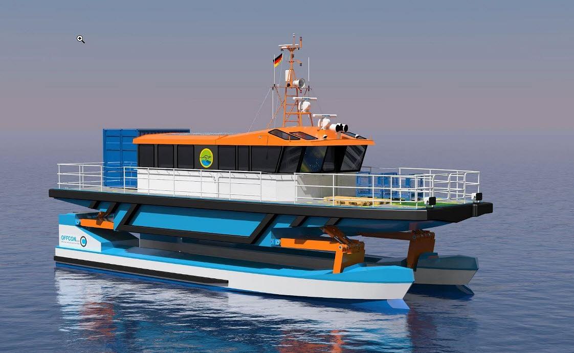 Wallaby Boats Building Suspension Crew Transfer Vessel