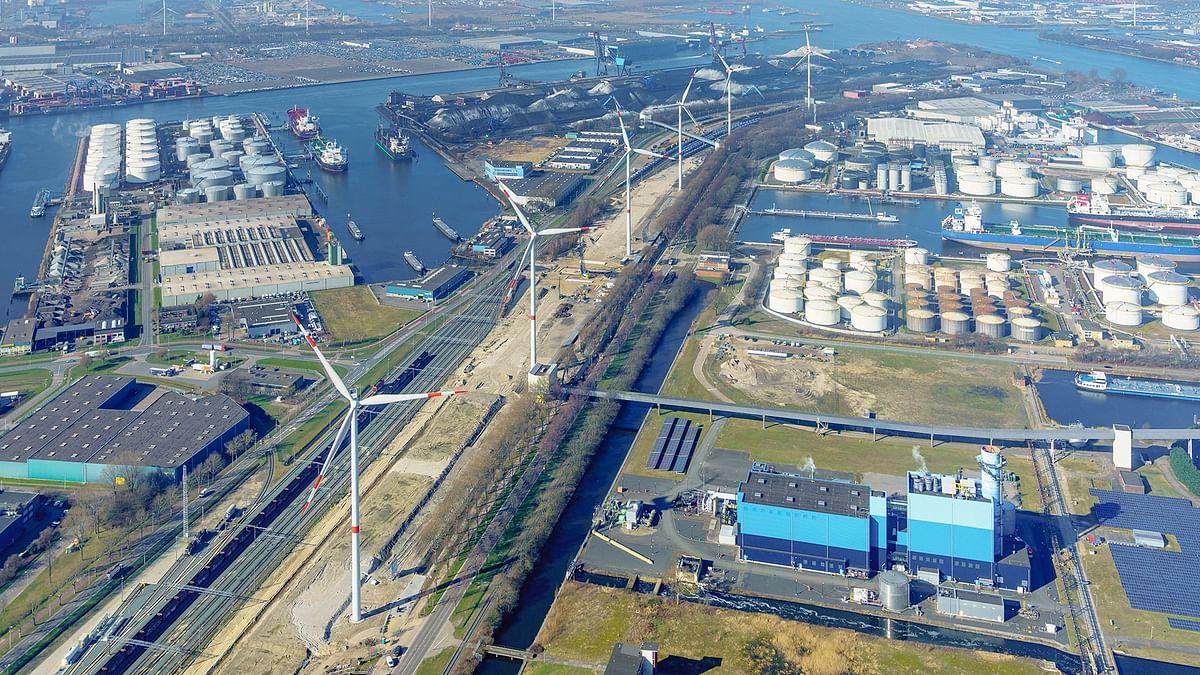 Wind Farm Nieuwe Hemweg Opens in Netherlands