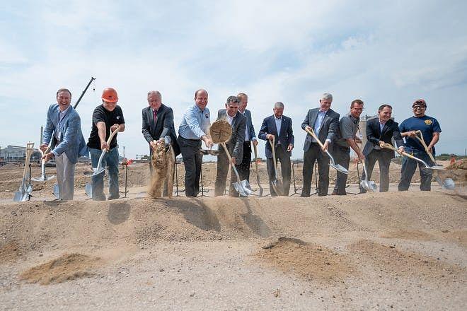 EVRAZ Breaks Ground for New Rail Mill at Pueblo in Colorado