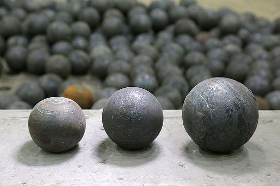 Metalloinvet's OEMK Ball Rolling Facility Producing 90mm Balls