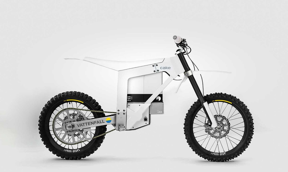 Vattenfall & CAKE to Develop Fossil Free Motorcycle