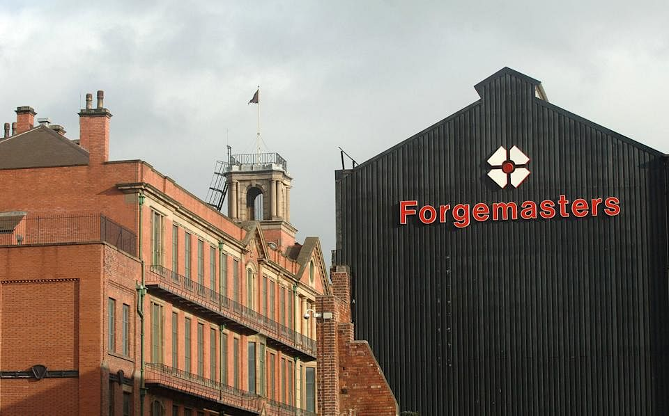 UK Ministry of Defence Buys Sheffield Forgemasters