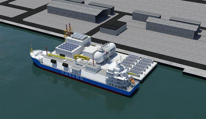 Wärtsilä's Hydrogen Blend Enginesfor Keppel's Floating Living Lab