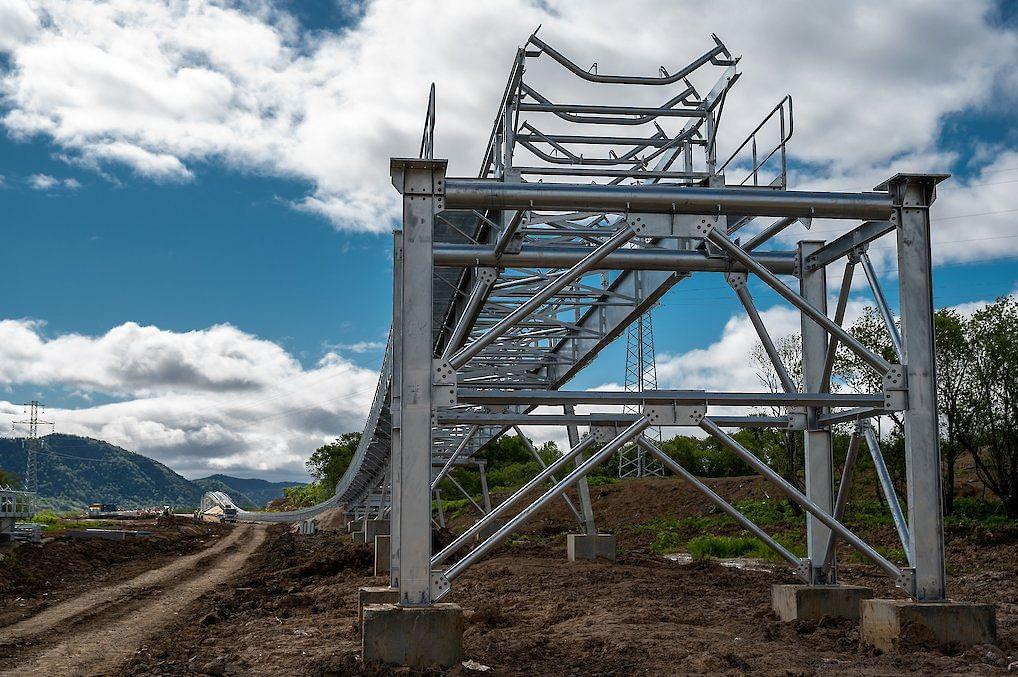 Vostochnaya Mining Building Substations for Coal Conveyor