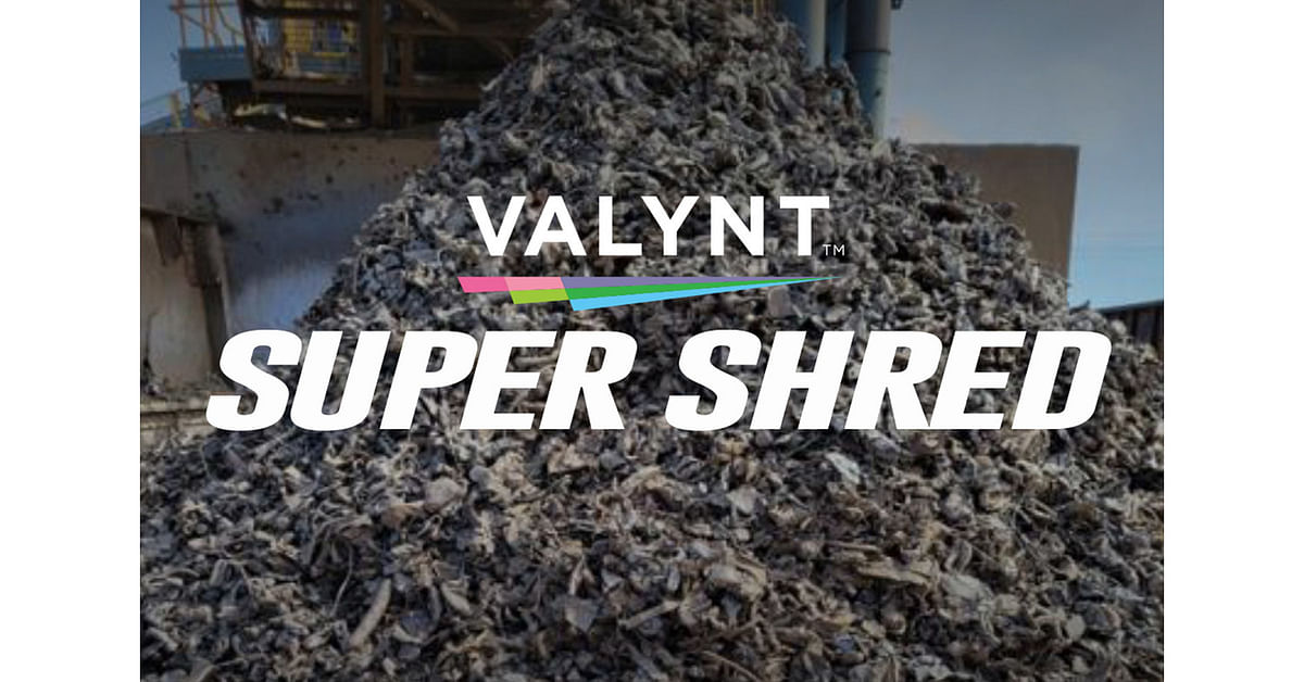 VALYNT Unveils Low Cost Super Shred Metal Scrap Product