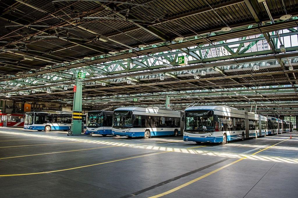 Siemen eBus Charging Solution for Bus Transport in Zurich