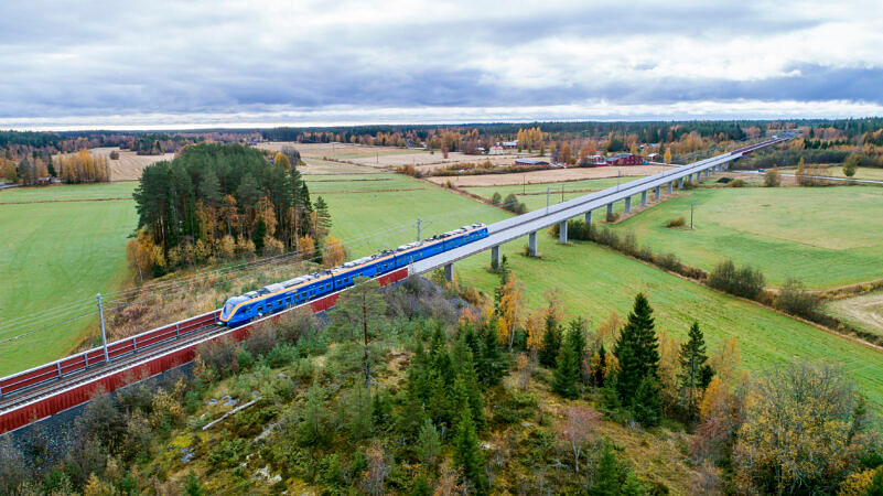 Sweco to Plan Section of North Bothnia Line in Sweden