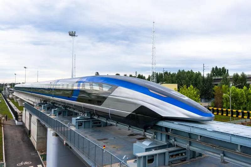 CRRC Launches 600KMPH Maglev Train in Qingdao