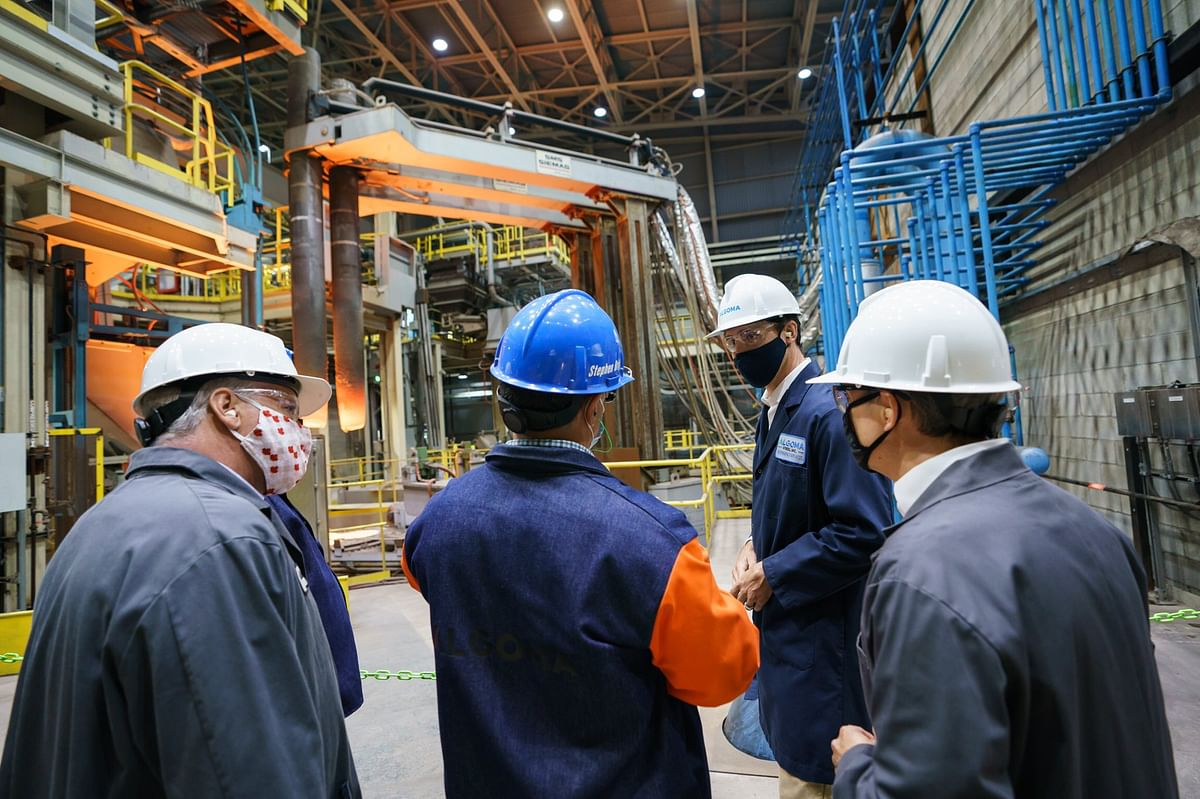 Canada Supports Algoma Steel's Transformation Plan for Green Steel