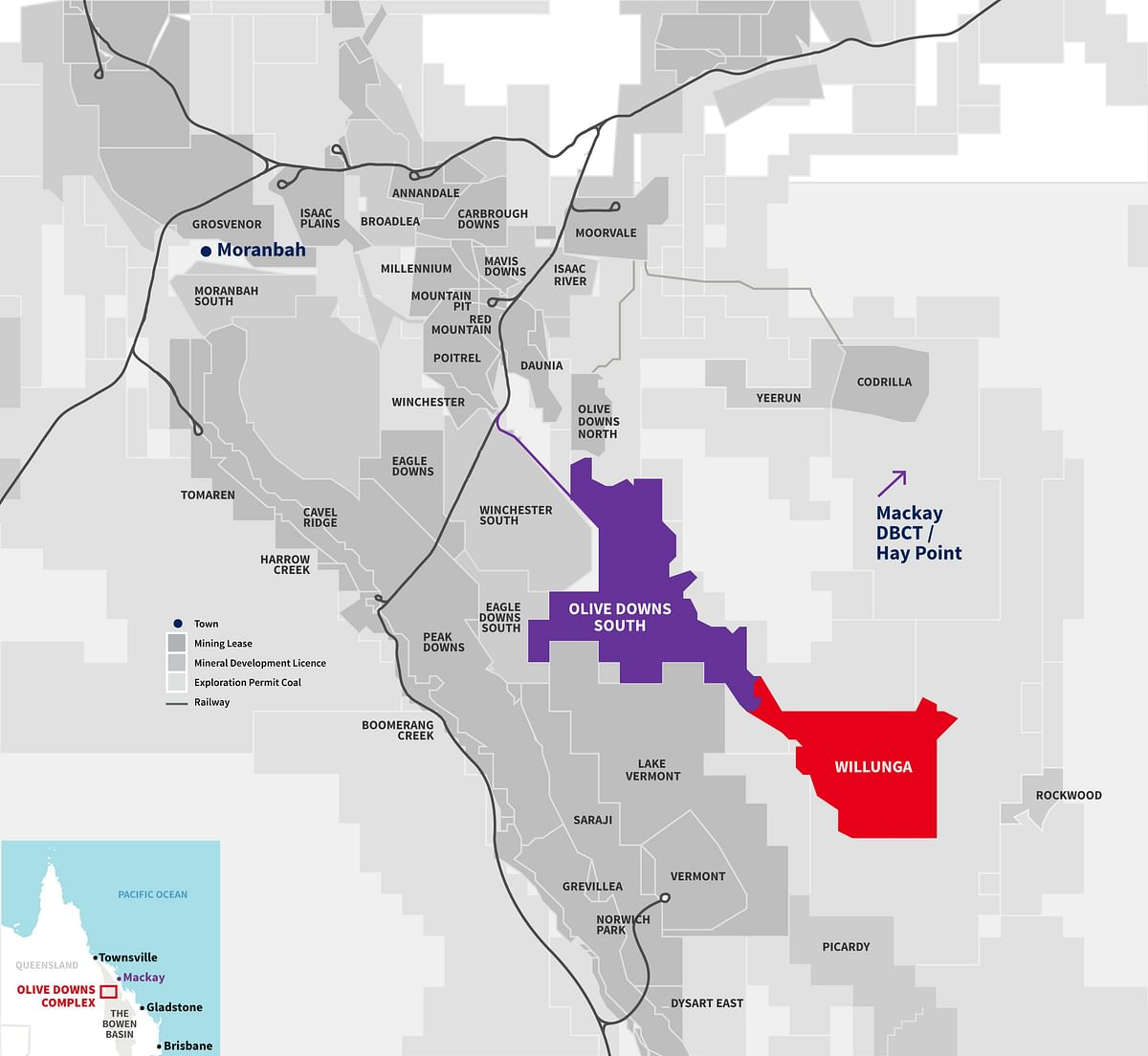NAIF Funds Pembroke's Olive Downs Coking Coal Project Queensland