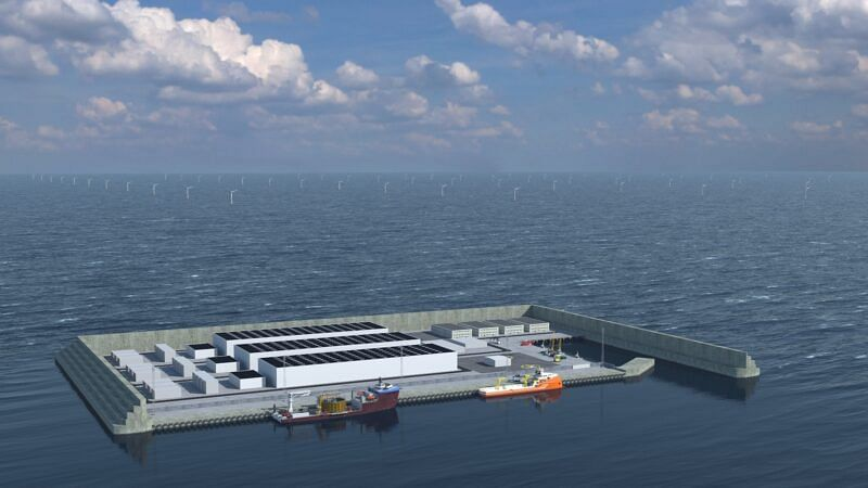 Sweco is Technical Adviser for North Sea Energy Island