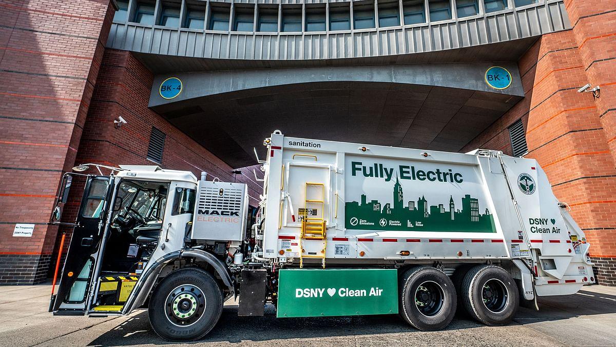 New York Sanitation to Purchase 7 Mack LR Electric Models