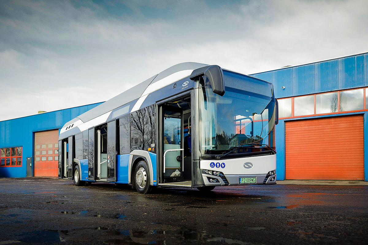 Poland to Get First Hydrogen Bus from Solaris for MZK in Konin